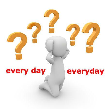 every dayとeverydayの違いとは?