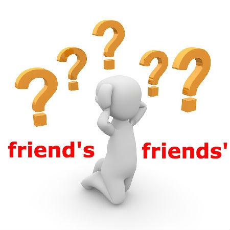 friend'sとfriends'の違いとは?