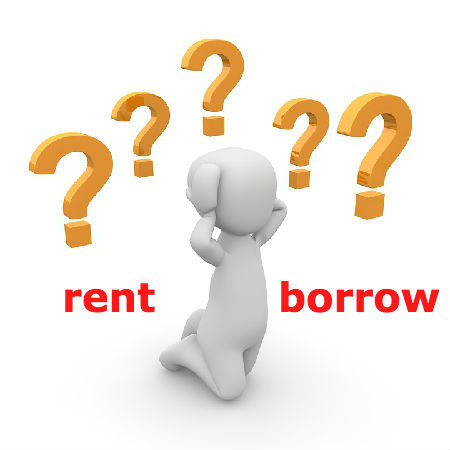 rentとborrowの違いとは?