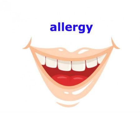 allergyの発音に注意しましょう!
