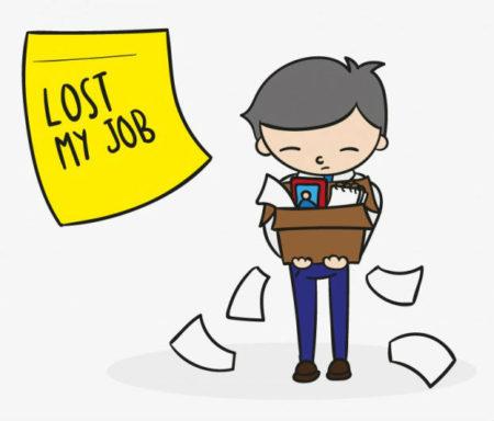 「失業する(無職である)」を英語で