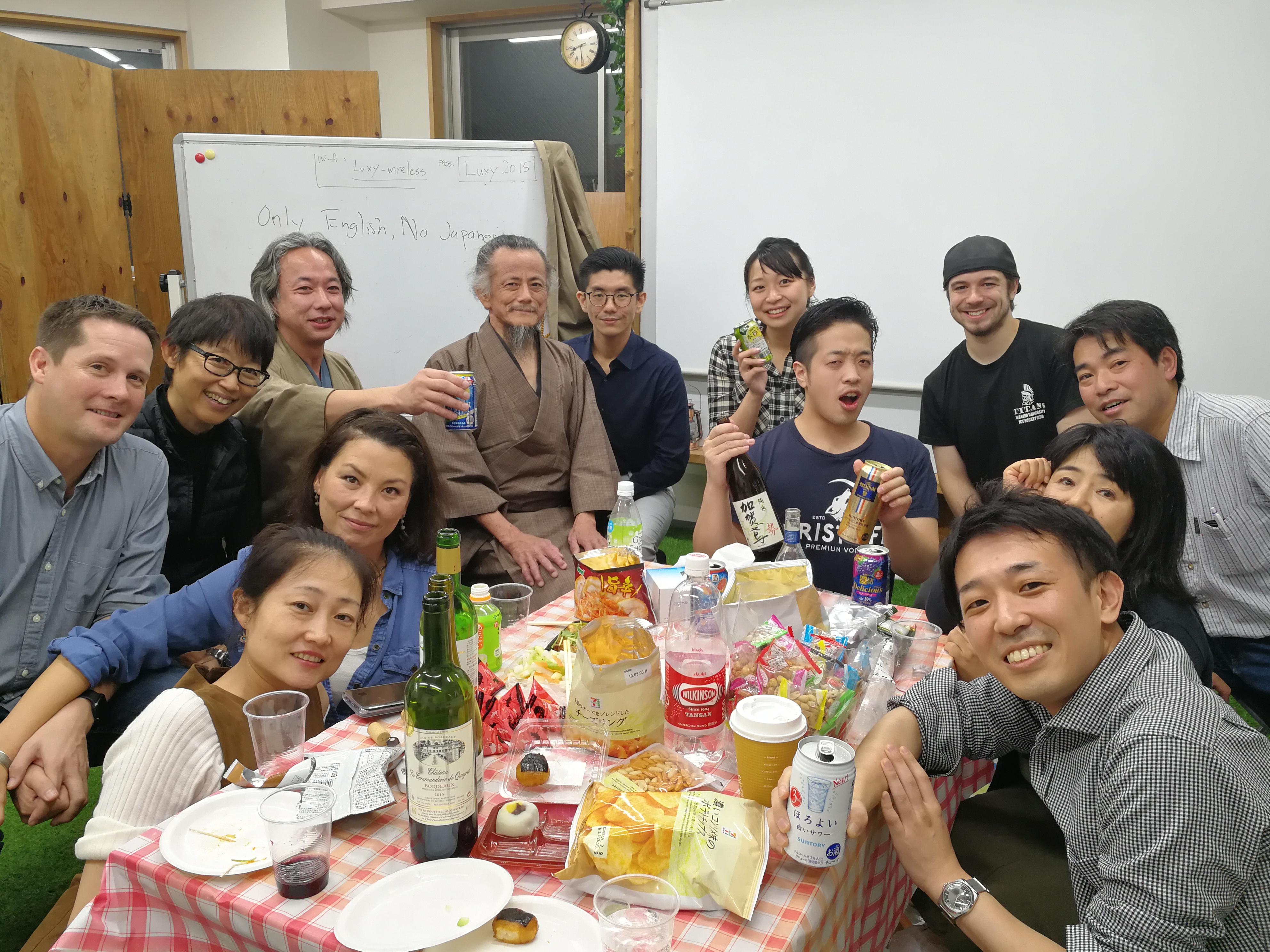 20180120 国際交流パーティー
